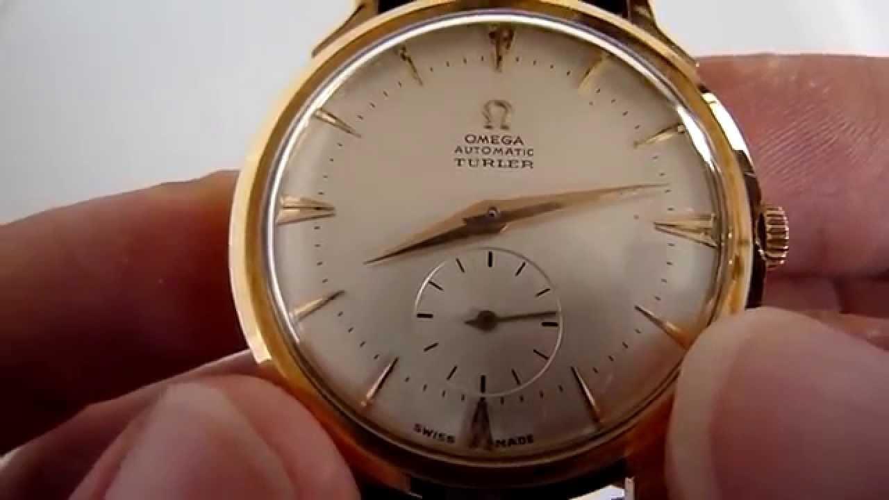 vender reloj de oro omega